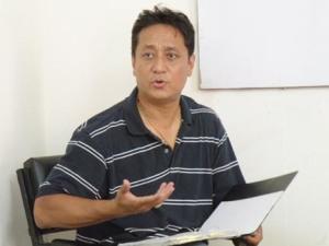 Lui è Capt Vijay Lama, il vero eroe del film